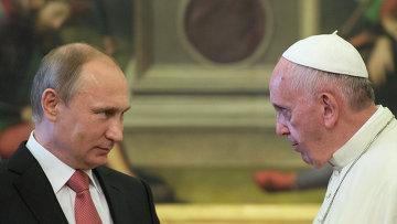 Точность — вежливость королей? Путин во второй раз опоздал на встречу с папой римским