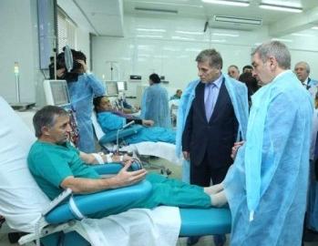 Для пациентов с больными почками в Махачкале открылся современный центр гемодиализа