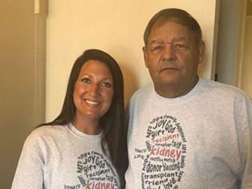 Бывшая наркоманка пожертвовала свою почку офицеру полиции, который несколько раз лишал ее свободы